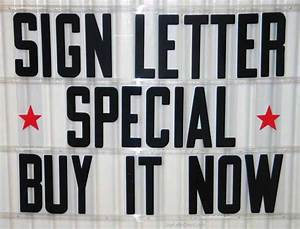 8quot condensed flex letters for portable signs plastic for Lettering for signs