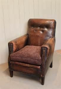 vintage leather armchair leather armchair antiques atlas 3232