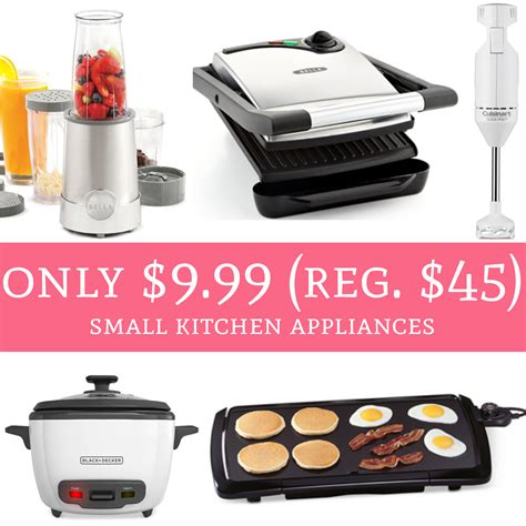 Hot! Only $999 (regular $45) Small Kitchen Appliances