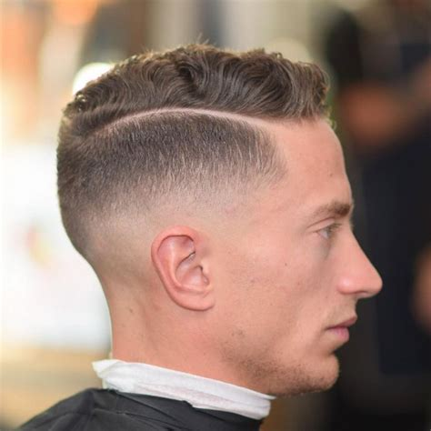 medium fade haircut ideas  pinterest