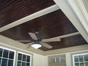 Stained Beadboard Ceiling from Curtis Construction Group