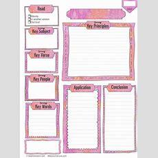 Free Bible Journal Key Worksheet  Bible Journal Love