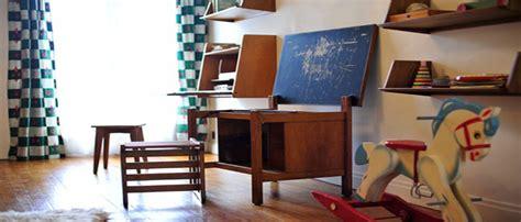 Le Bureau D'ecolier Vintage Les Enfants Adorent