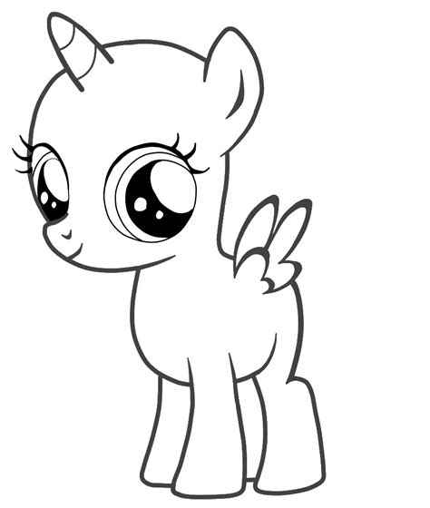 my pony template my pony drawing template