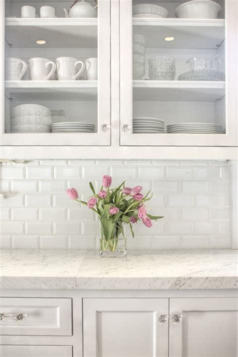 white kitchen backsplashes subway tile backsplash design ideas