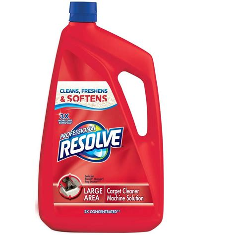 Rug Cleaner Solution by Resolve 96 Oz Carpet Steam Cleaning Concentrate 19200