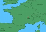 Map Of Lyon City 165915 - Download Free Vectors, Clipart ...