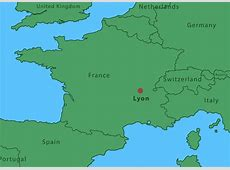 Map Of Lyon City Download Free Vector Art, Stock