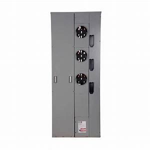 Eaton 200 Amp Ring Type Underground Group Meter Socket-1mp3206r
