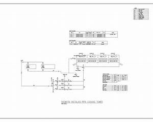 Building Utilities  Water Cooled Chiller Schematic Diagram