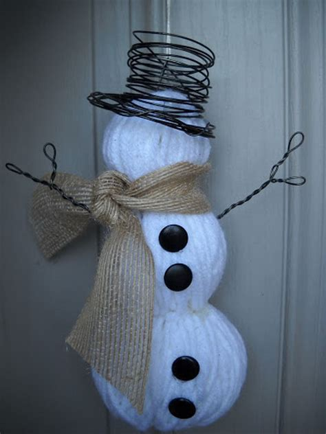 diy snowman craft ideas  tutorials  kids