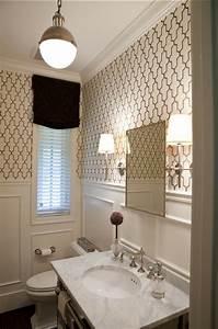 Tapete Für Badezimmer : 50 moderne tapete muster funktionelle m glichkeiten f r innen und au en ~ Watch28wear.com Haus und Dekorationen