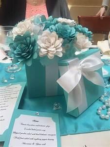 Tiffany bridal shower decorations for Wedding shower decorations ideas