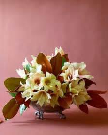 Arranging Flowers by Winter Flower Arrangements Martha Stewart