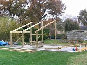 Construire Un Garage En Bois Soi Meme : hangar ossature bois construction hangar bois ~ Dallasstarsshop.com Idées de Décoration
