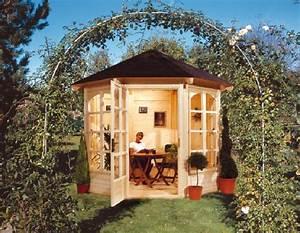 Gartenpavillon Holz Geschlossen : pavillon holz m bel und heimat design inspiration ~ Whattoseeinmadrid.com Haus und Dekorationen