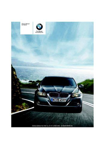 328i Manual by 2010 Bmw 328i Sedan Owner S Manual Pdf 274 Pages