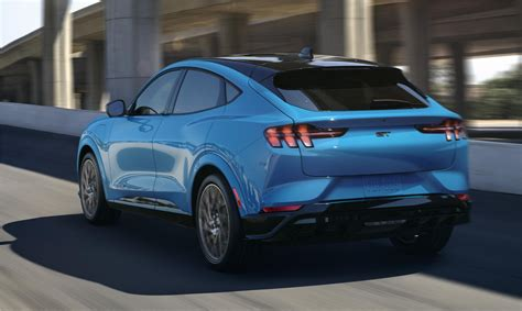 ford mustang mach   electric suv electric