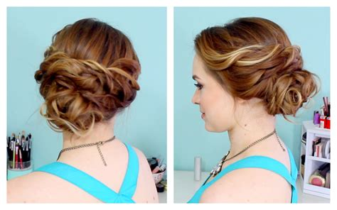 Quick Side Updo For Prom! (or Weddings!  Brown Hair Blue Eyed Male Models Would Vitamin D Deficiency Cause Loss Us Force Bayonne Nj I Dyed My Too Dark How Can Lighten It At Home Flip Emoji Removing From Face Permanently Amourjayda Review Bow Holder Jojo