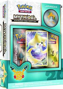 Large Images of First Six Mythical Pokemon Collections ...