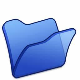 Folder blue Icon | Refresh Cl Iconset | TpdkDesign.net