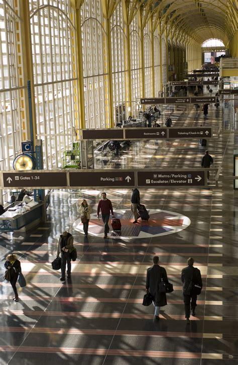 interior views  reagan national airport metropolitan