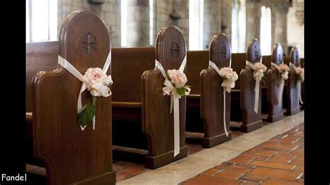 simple church wedding decorating ideas youtube