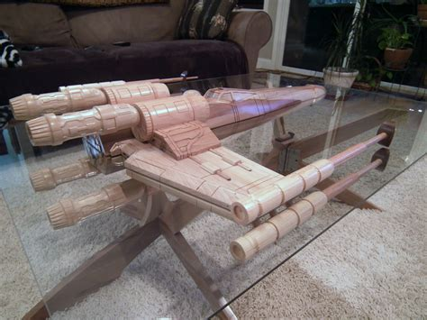 star wars table l star wars x wing coffee table