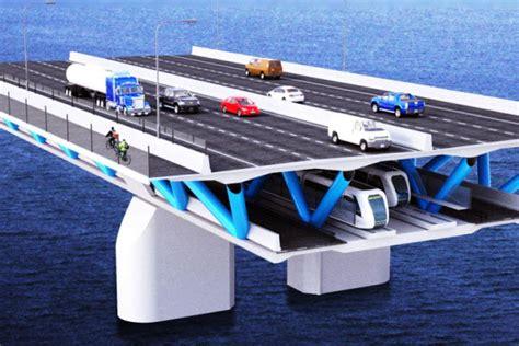 bureau avec caisson futur pont chlain une structure à deux niveaux
