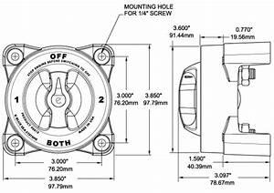Marine Battery Switch Instructions