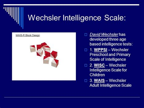 testing and individual differences ppt 961 | Wechsler Intelligence Scale%3A