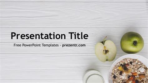 healthy food powerpoint template prezentr