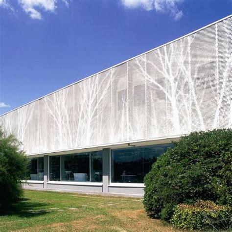china aluminium perforated facade panel exterior manufacturers suppliers factory customized