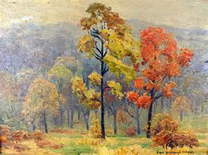 Fall Landscape Oil Painting