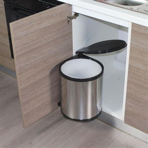cuisine ronde pretty poubelle cuisine intégrée pictures gt gt agencement