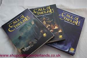 Call Of Cthulhu 7th Edition Slipcase Set  Boxed