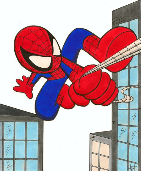 baby art spider man  demasduit  deviantart