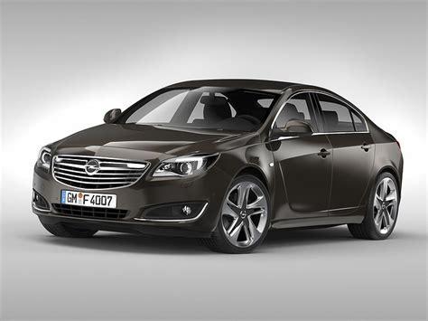 Opel Car Models by 3d Opel Insignia 2014 Cgtrader