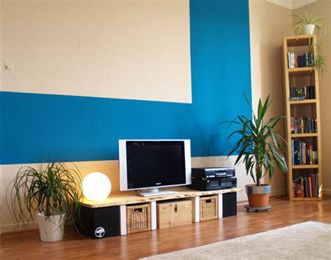 2 Wände Farbig Streichen Welche by W 228 Nde Farbig Streichen