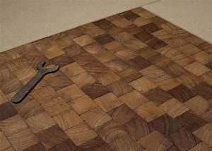 Pavé De Bois : parquet massif pave iroko bois de bout vieilli huile cire ~ Premium-room.com Idées de Décoration