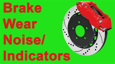 Brake Wear/ Indicator Noise- Scraping Sound (acura Tsx