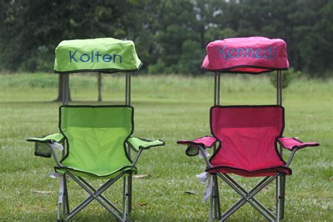 foldable canopy c chair monogram by