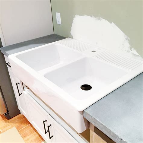 counter depth farmhouse sink 100 ikea domsjo sink depth kitchen rooms ideas