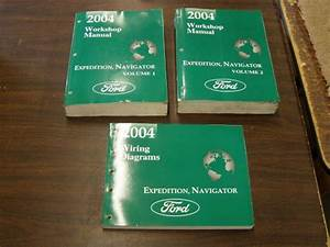 Find Oem Ford 2004 Lincoln Navigator   Expedition Shop Manual Book   Wiring Diagram Motorcycle