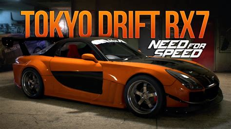 Need For Speed 2015 Han's Tokyo Drift Rx7 Fast And Furious