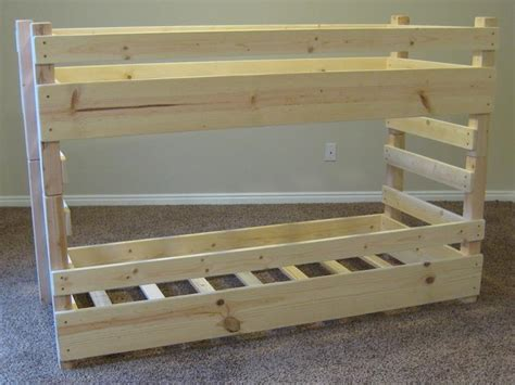 pdf woodwork homemade bunk bed plans download diy plans