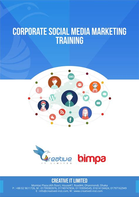 Social Media Marketing Courses by Corporate Social Media Marketing Smm Course Outline By