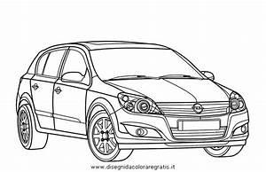 disegno opel astra categoria mezzi trasporto da colorare With p0105 opel astra g