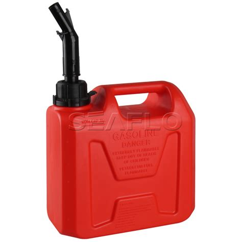 Small Boat Gas Tank by Gas Can Seaflo 5l 1 3 Gallon Plastic Boat Fuel Tank
