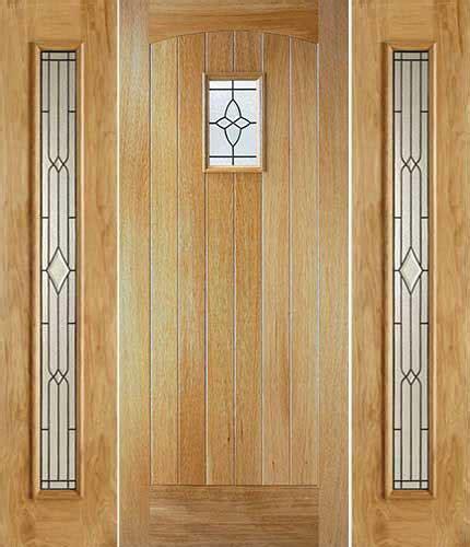 chancery cottge glazed external oak door  univrsal
